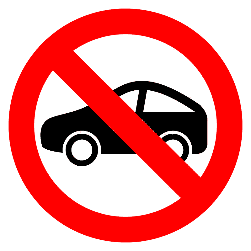 No acceptance of end-of-life vehicles